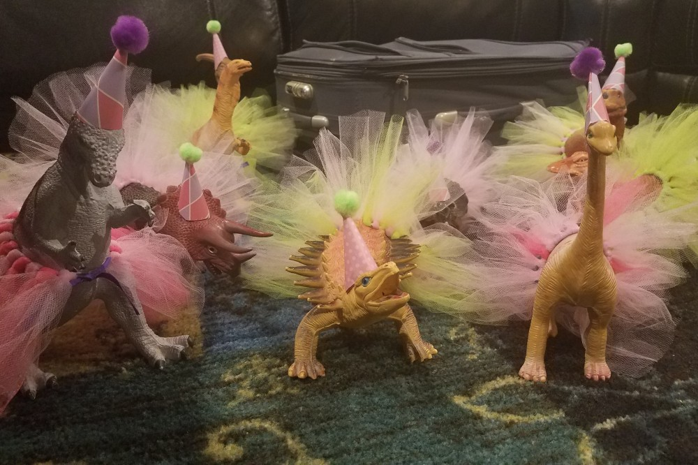 dinosaurs in tutus persnickety pigsnickety